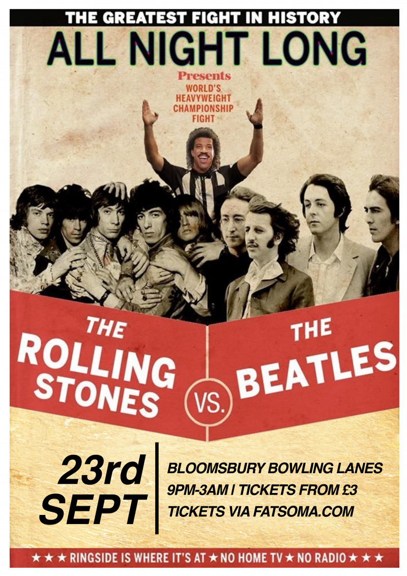 The Beatles Vs The Rolling Stones
