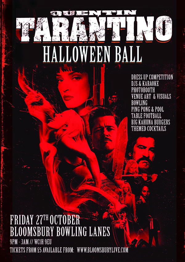 The Tarantino Halloween Ball